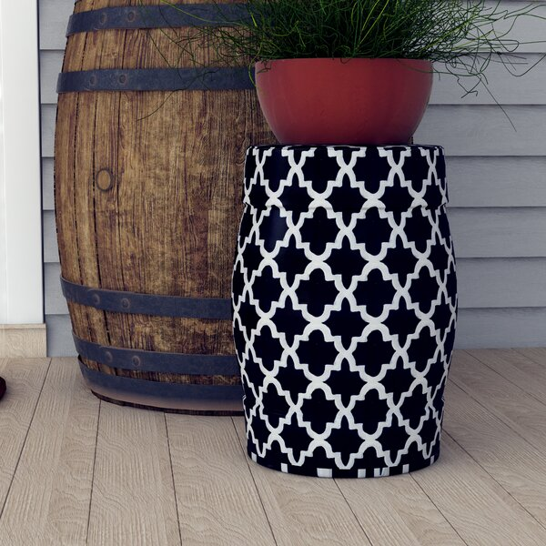 Lester Ceramic Garden Stool by Darby Home Co
