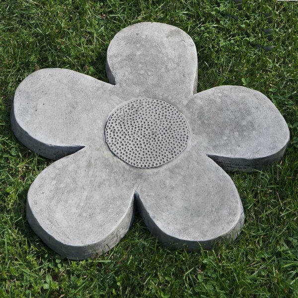 Flower Power Stepping Stone by Campania International