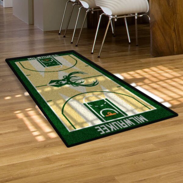 NBA - Milwaukee Bucks NBA Court Runner Doormat by FANMATS