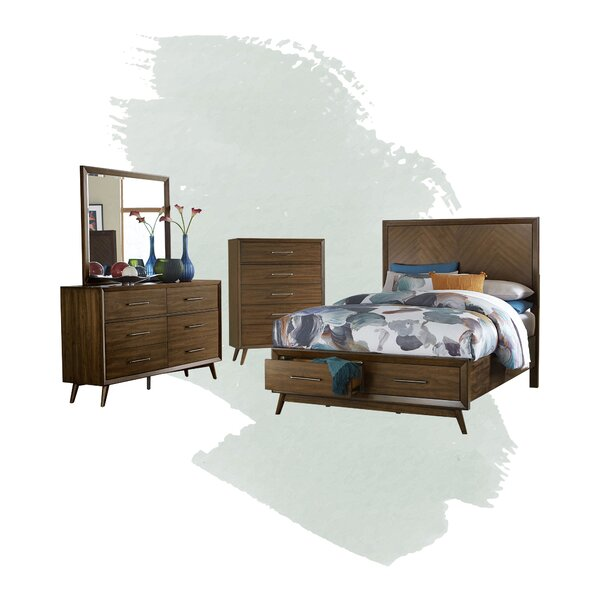 Alleya Platform Configurable Bedroom Set by Foundstone