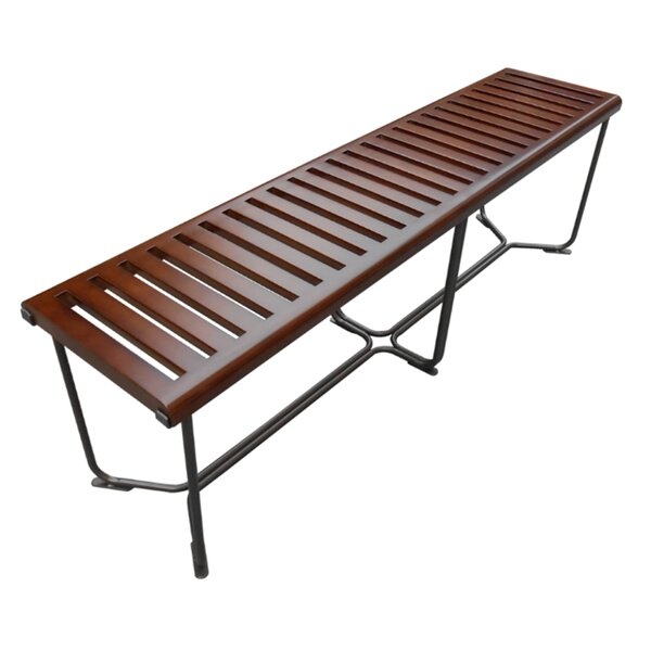 Solid Wood Bench by Fine Mod Imports