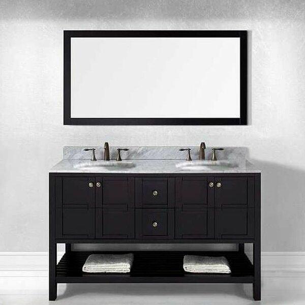 Bob 60 Double Bathroom Vanity Set by Willa Arlo Interiors