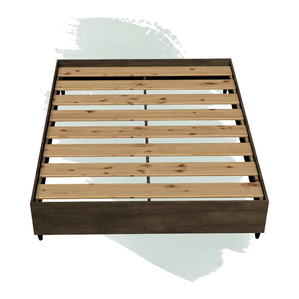 Pepper Platform Bed by Foundstone