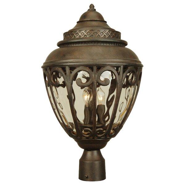Oakhill 3-Light Outdoor Lantern Head by Charlton Home