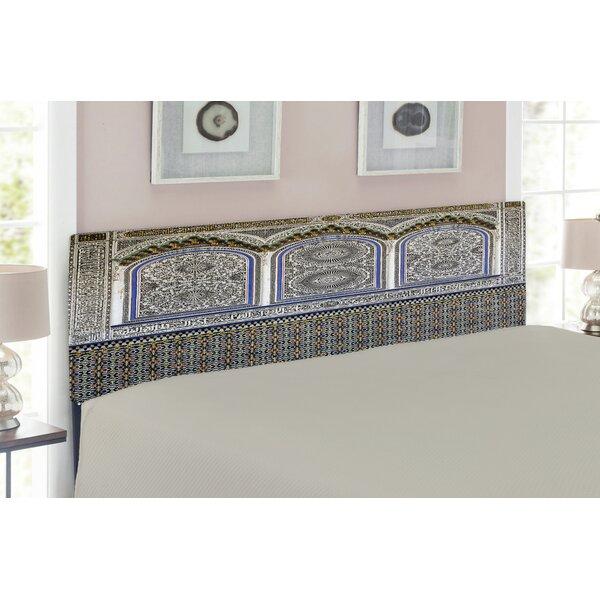 Arabian Upholstered Panel Headboard By East Urban Home
