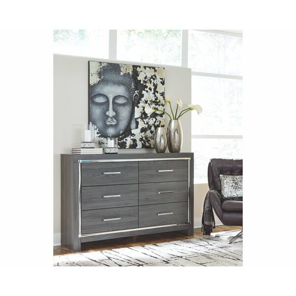 Halesworth 6 Drawer Double Dresser by Orren Ellis