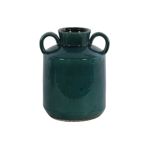 Rue Cylindrical Ceramic Table Vase by Gracie Oaks