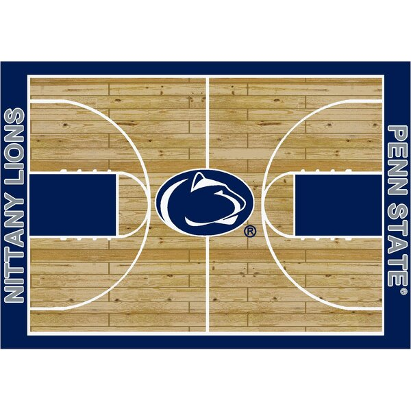 NCAA College Home Court Penn State Novelty Rug by My Team by Milliken