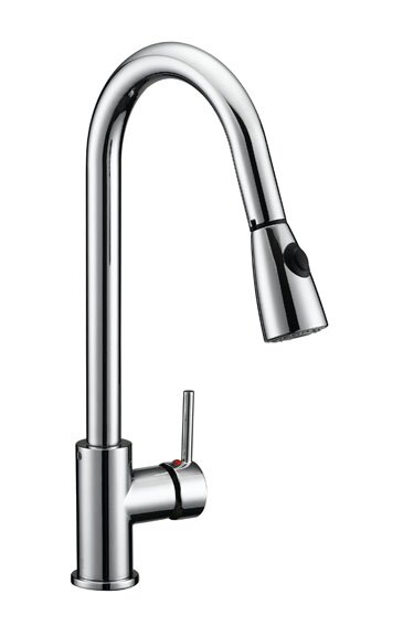Eastport Pull Down Single Handle Kitchen Faucet by Design House