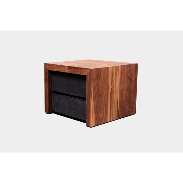 SQR 2 Drawer Nightstand by ARTLESS