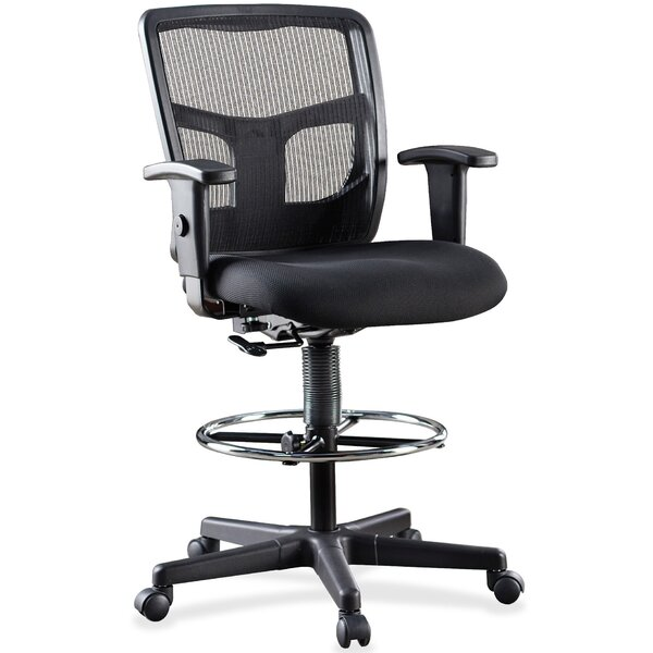 Pleasing Ratchet Mesh Drafting Chair By Lorell Pdpeps Interior Chair Design Pdpepsorg