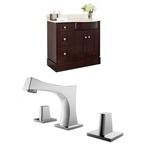 Kester 36 Wood Single Bathroom Vanity Set by Darby Home Co