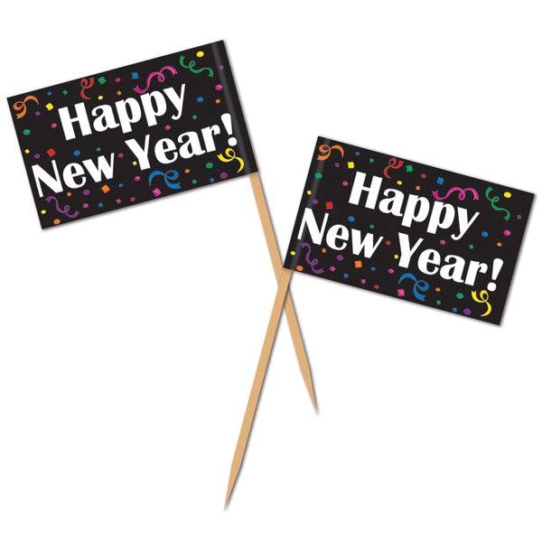 New Years Happy New Year! Pick (Set of 50) by The Beistle Company