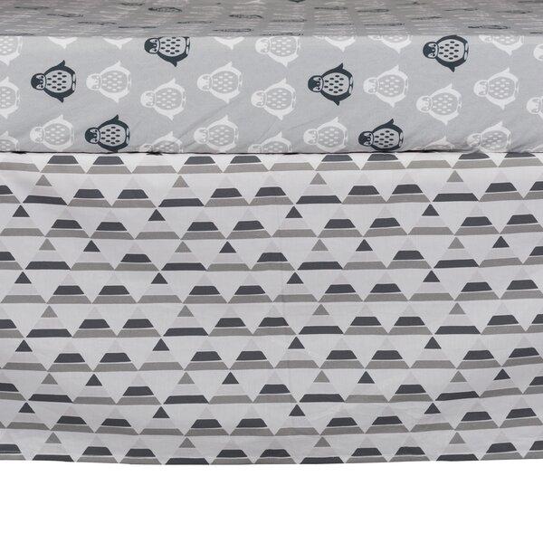 Lolli Mod Triangle Crib Skirt by Lolli Living