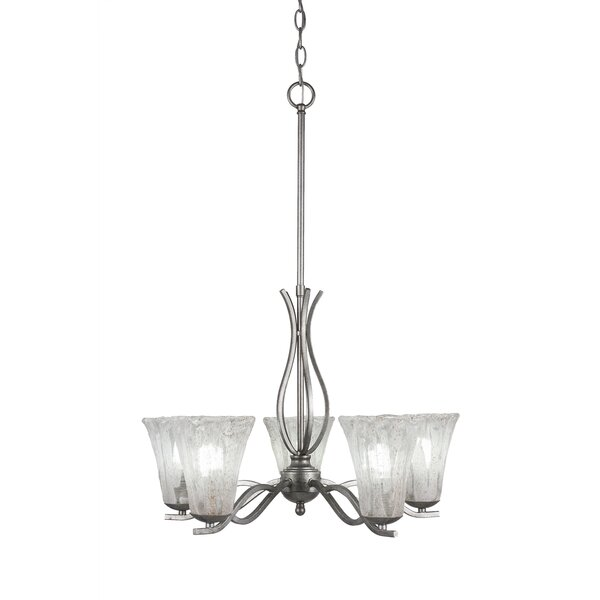 Hiroko 5-Light Shaded Classic / Traditional Chandelier By Red Barrel Studio