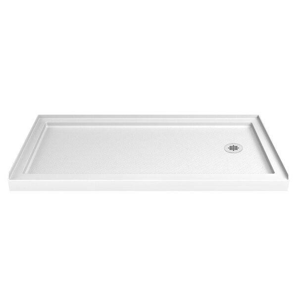 SlimLine 60 x 32 Single Threshold Shower Base by DreamLine