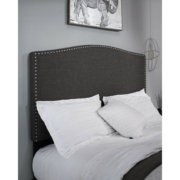 Altamirano Upholstered Panel Headboard by Darby Home Co
