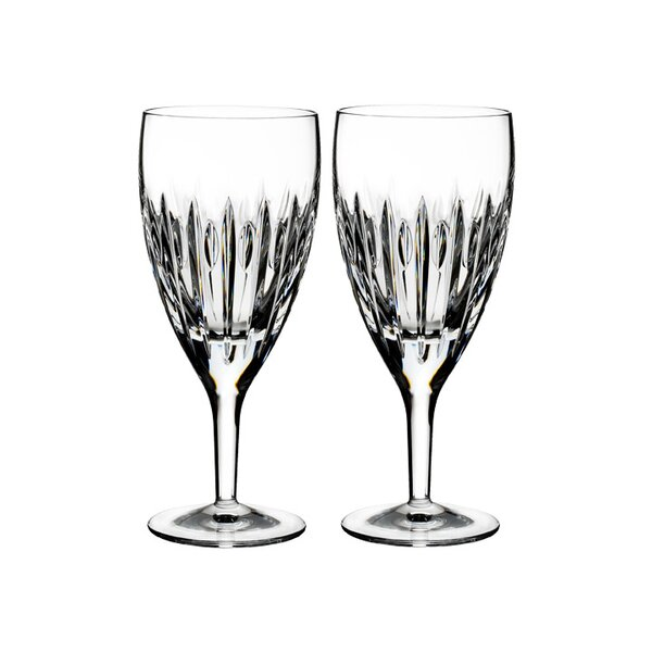Mara Iced Beverage 14 oz. Crystal Every Day Glasses (Set of 2) by Waterford