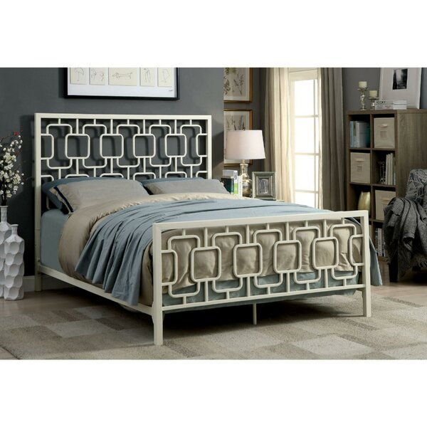 Jerrold Metal Standard Bed by Wrought Studio