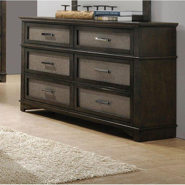Tartaglia 6 Drawer Double Dresser by Mercer41