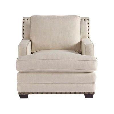 Ryans Armchair Upholstery Color: Off White
