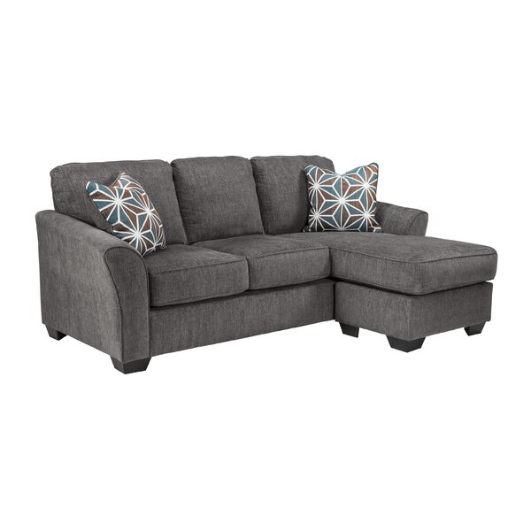 Fallin Reversible Sleeper Sectional by Wrought Studio