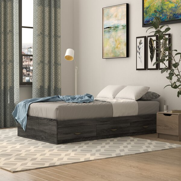 Doering Luxurious Storage Platform Bed by Latitude Run