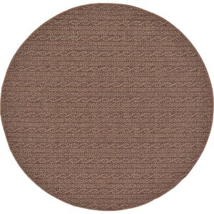 Robbinston Brown Outdoor Area Rug
