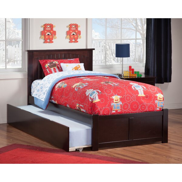 Graham Platform Bed with Trundle by Beachcrest Home