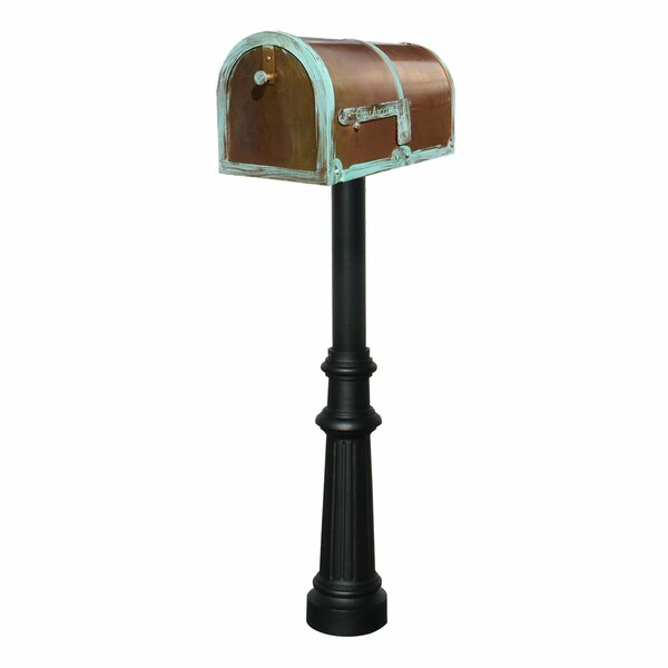 Provincial Mailbox with Post Included by Qualarc