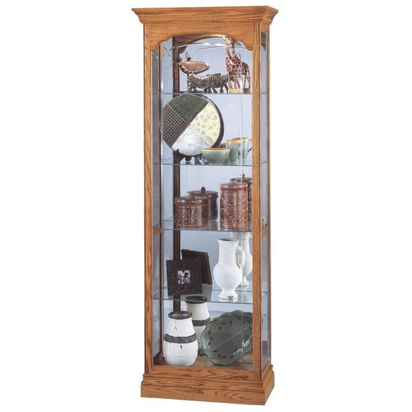Brandes Curio Cabinet by Darby Home Co
