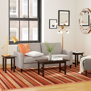 Inexpensive Everett 3 Piece Coffee Table Set By Zipcode Design