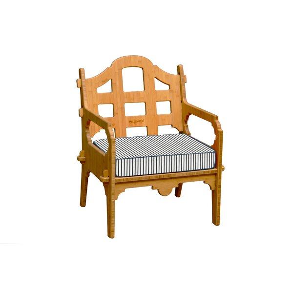 Burliegh Patio Chair with Cushion by Loon Peak