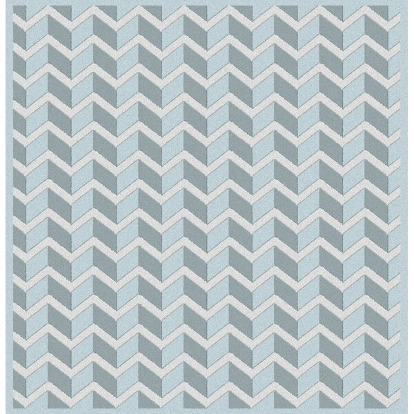 Wilborn Blue Area Rug by George Oliver