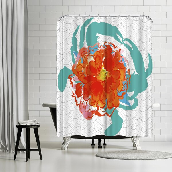 Edith Jackson Deception Shower Curtain by East Urban Home