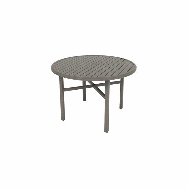 Amici Metal Bar Table by Tropitone