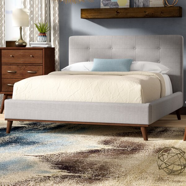Jeterson Upholstered Platform Bed by Trule Teen