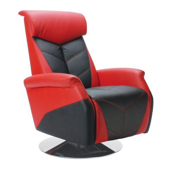 Racing Style Manual Recliner by PitStop Furniture