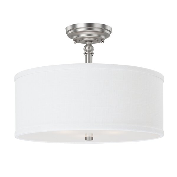 Thorpe 3-Light Semi Flush Mount by Three Posts