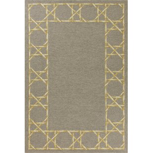 Stromberg Hand-Woven Gray Indoor/Outdoor Area Rug By Bay Isle Home