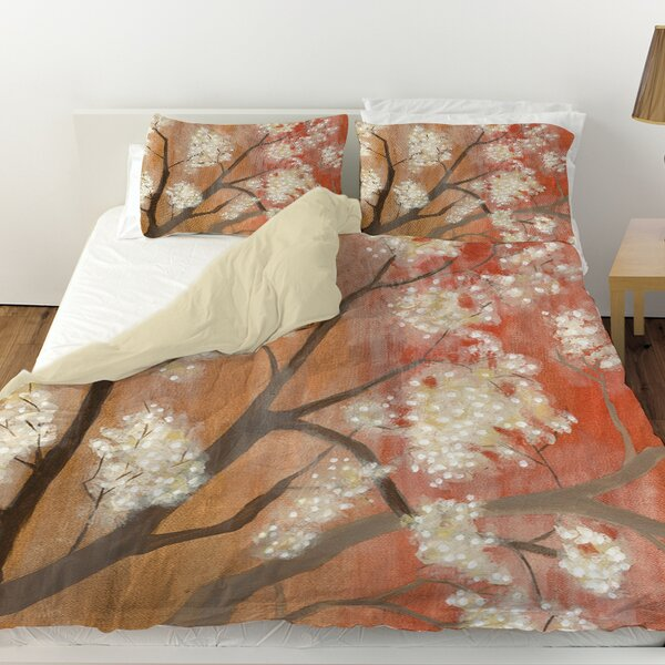 Mandarin Mist 1 Duvet Cover by Manual Woodworkers & Weavers