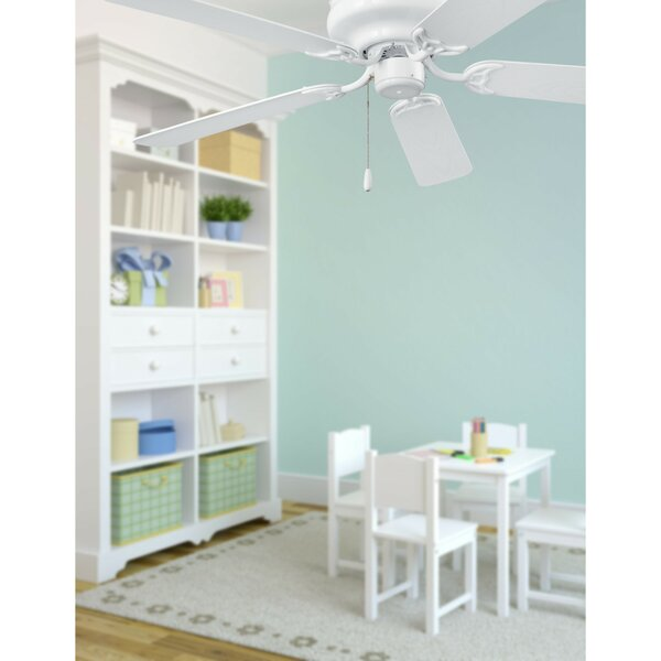 52 Hugger Series 5-Blade Ceiling Fan by Broan