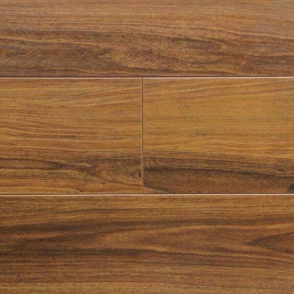 7 x 48 x 12.3mm Laminate Flooring in Walnut (Set of 22) by Serradon