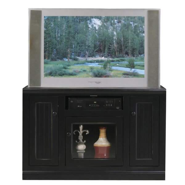 Didier 3 Doors Birchwood TV Stand by World Menagerie