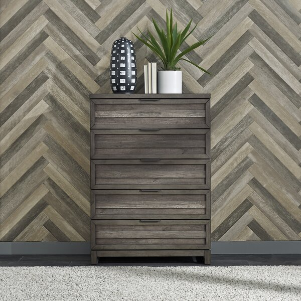 Benitez 5 Drawer Chest by Union Rustic