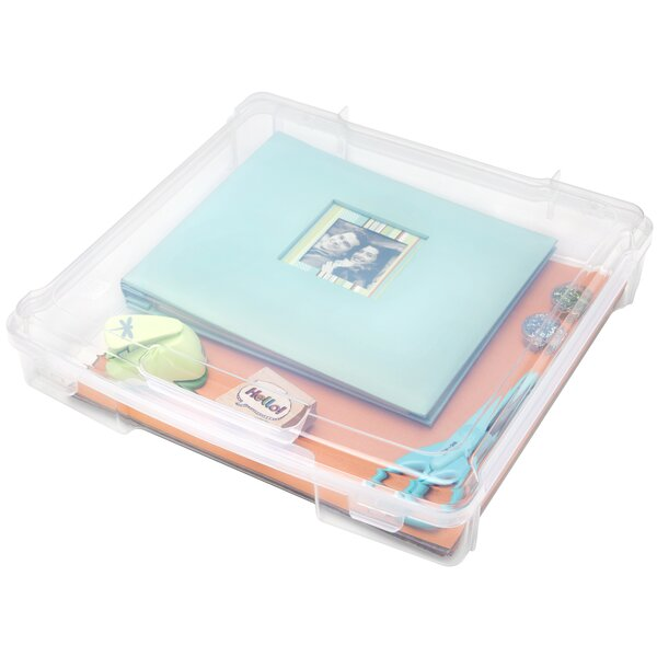 Scrapbook Storage Case (Set of 6) by IRIS USA, Inc.
