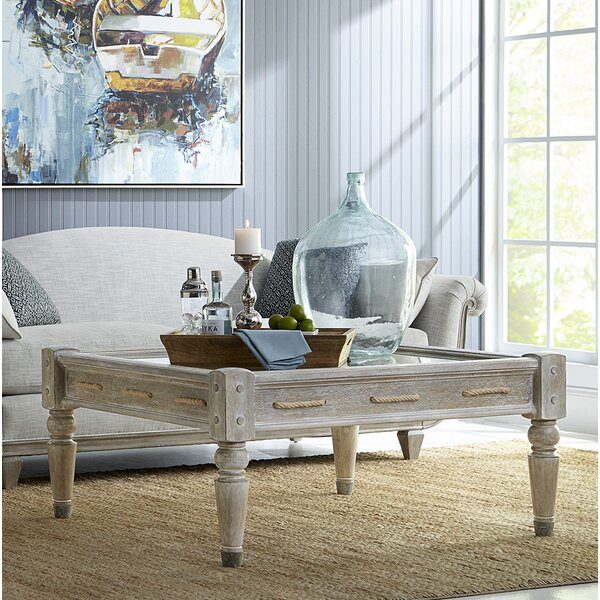Coffee Table with Storage by Dowton Abbey Dowton Abbey