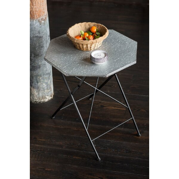 Bauxite Metal Bistro Table by Williston Forge