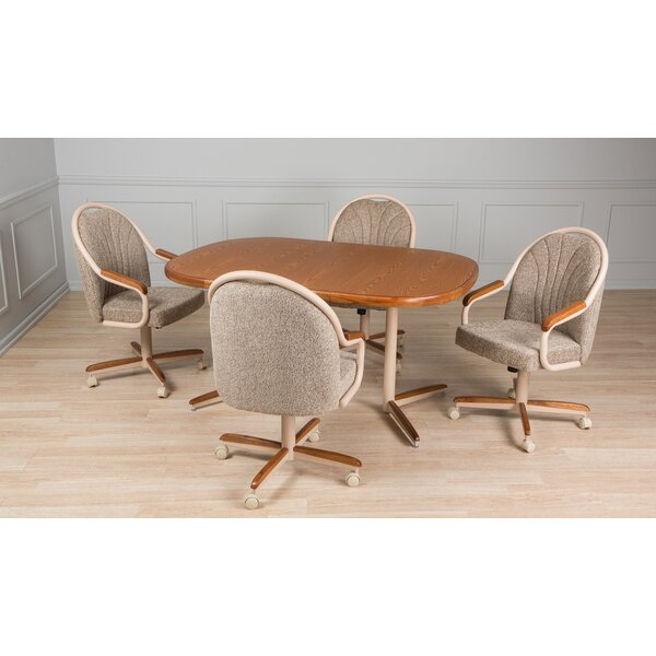 Kubiak 5 Piece Dining Set by Red Barrel Studio