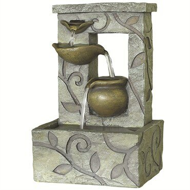 Resin Linton Floor Fountain by KelKay